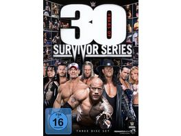 WWE 30 Years of Survivor Series 3 DVDs