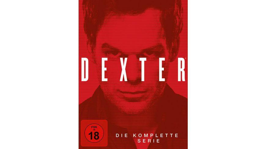 Dexter Die komplette Serie 35 DVDs