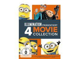 Ich Einfach unverbesserlich 1 3 Minions 4 DVDs