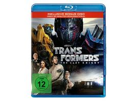 Transformers 5 The Last Knight Bonus Disc
