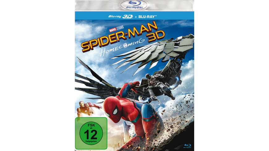 Spider Man Homecoming Blu ray