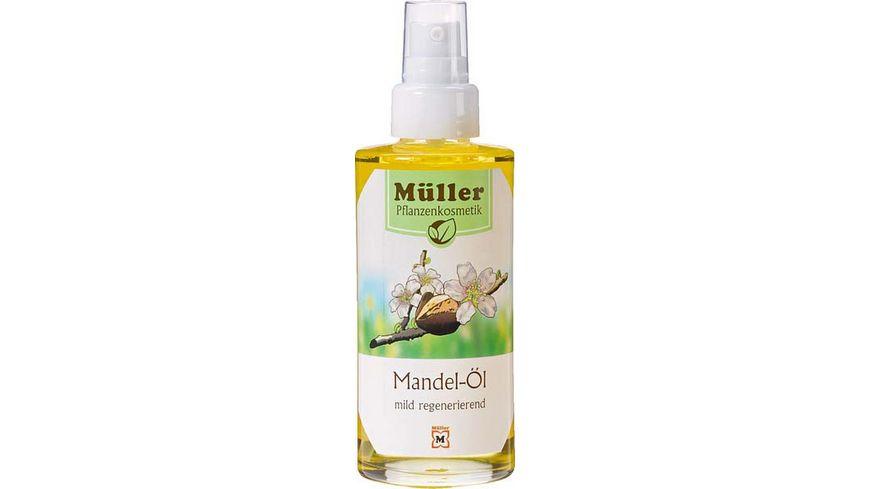Mueller Pflanzenkosmetik Mandel Oel