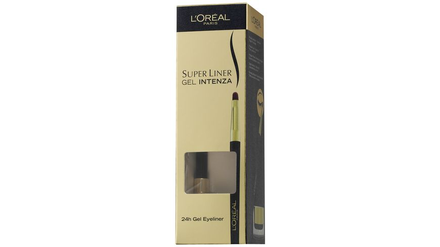 L OREAL PARIS Gel Eyeliner Superliner Gel Intenza