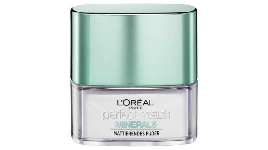 L OREAL PARIS Puder Perfect Match Minerals Finishing