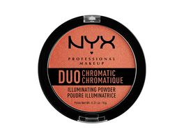 NYX PROFESSIONAL MAKEUP Highlighter Duo Chromatic Illuminating Powder Synthetica