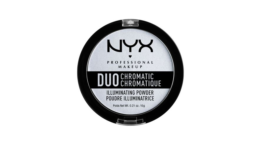 NYX PROFESSIONAL MAKEUP Highlighter Duo Chromatic Illuminating Powder Synthetica
