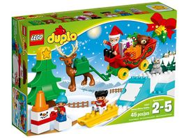 LEGO DUPLO 10837 Winterspass mit dem Weihnachtsmann