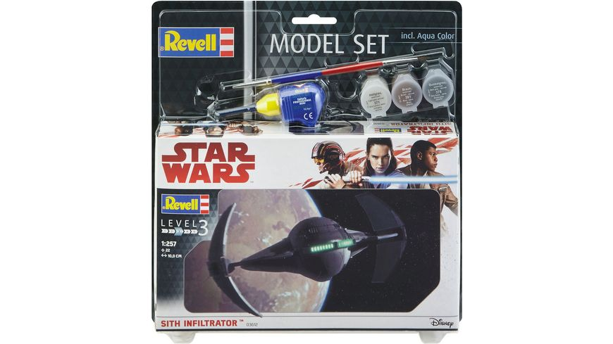 Revell 63612 Star Wars 1 257 Model Set Sith Infiltrator