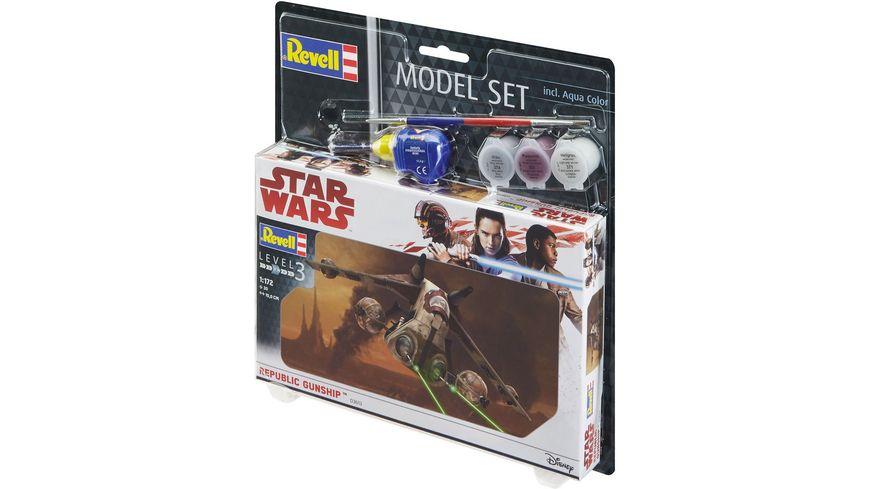 Revell 63613 Star Wars 1 172 Model Set Republic Gunship