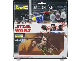 Revell 63613 Star Wars 1 172 Model Set Republic Gunship
