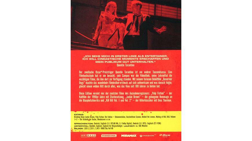 Tarantino Collection 4 BRs