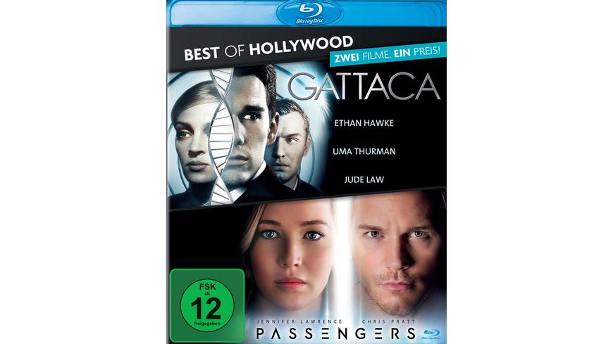 Gattaca Passengers Best of Hollywood 2 Movie Collector s Pack 2 BRs