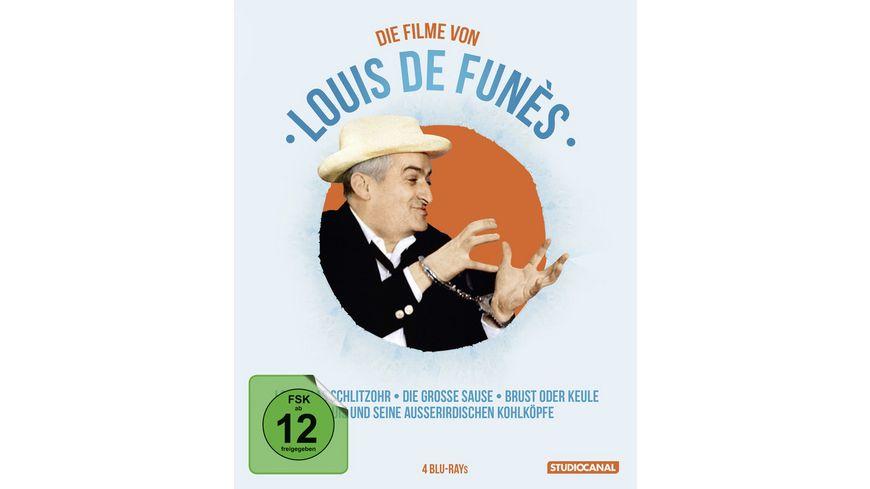 Louis de Funes Edition 4 BRs