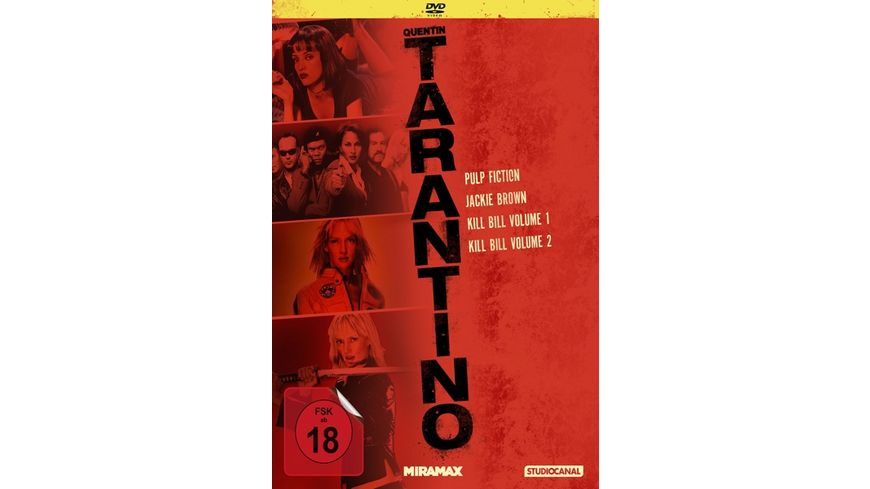 Tarantino Collection 4 DVDs