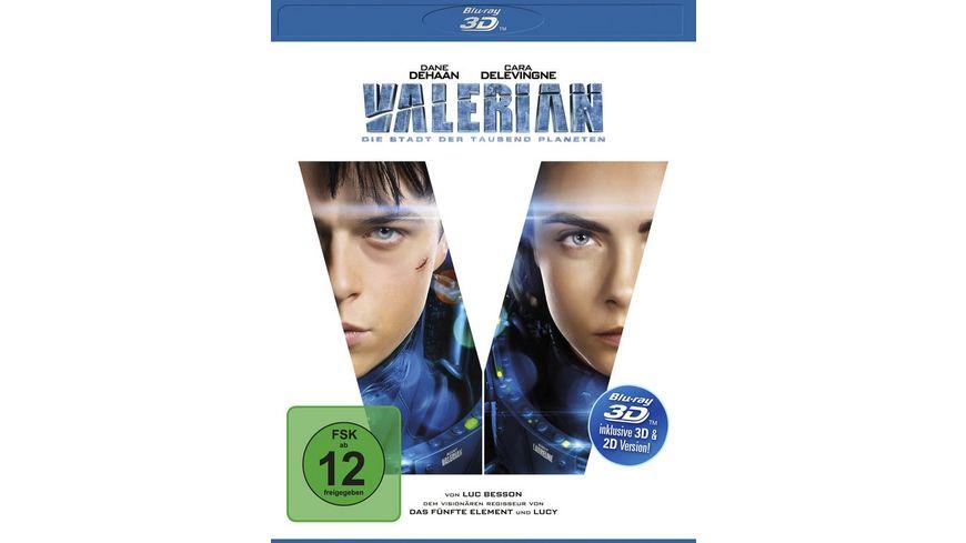 Valerian Die Stadt der tausend Planeten inkl 2D Version