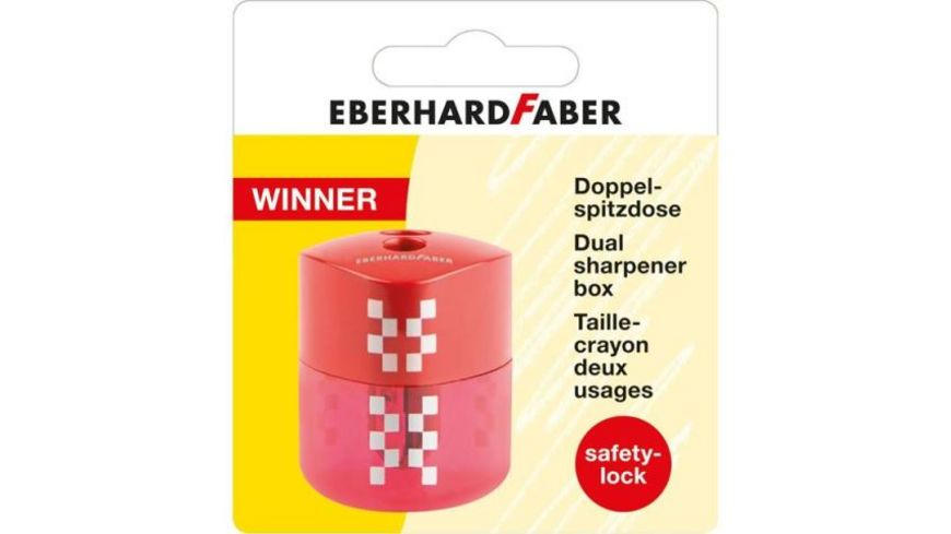EBERHARD FABER Doppelspitzdose Winner dreiflaechig