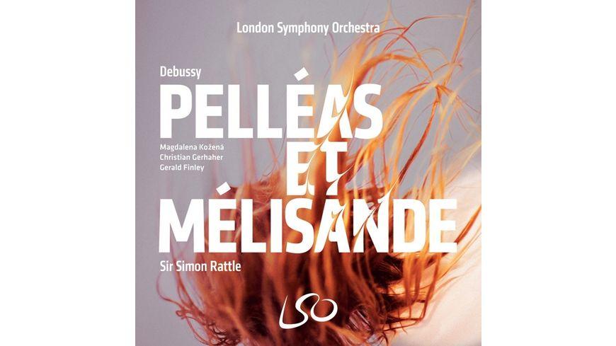 Pelleas et Melisande 3 SACD Audio Blu R