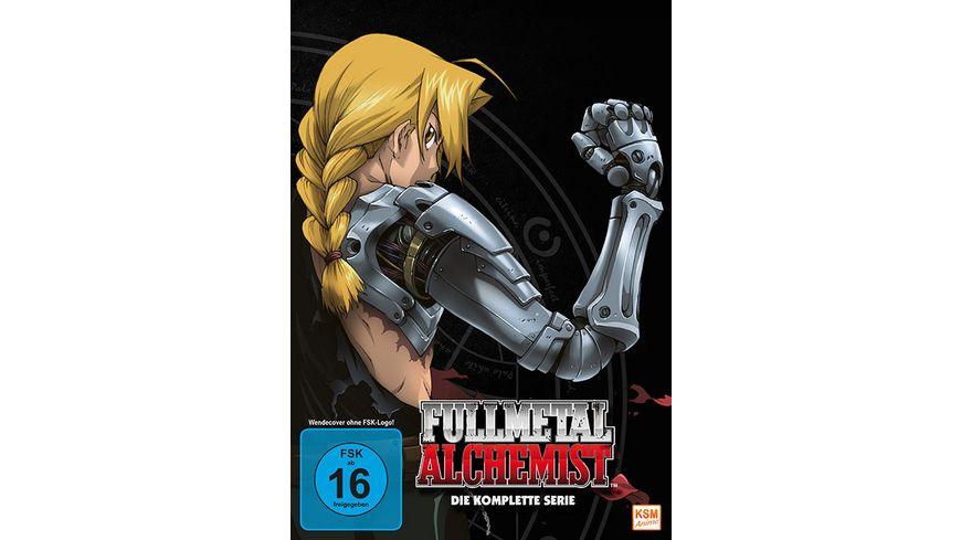 Fullmetal Alchemist Die komplette Serie 10 DVDs