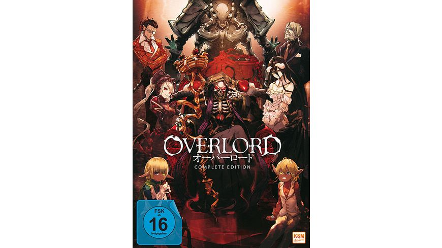 Overlord Complete Edition 3 DVDs