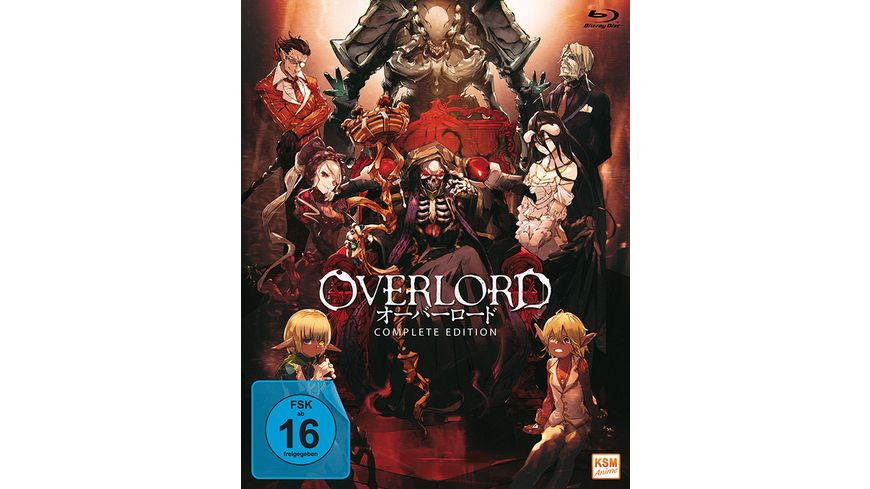 Overlord Complete Edition 3 BRs
