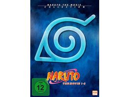 Naruto Shippuden The Movie Collection Movie 1 3 3 DVDs