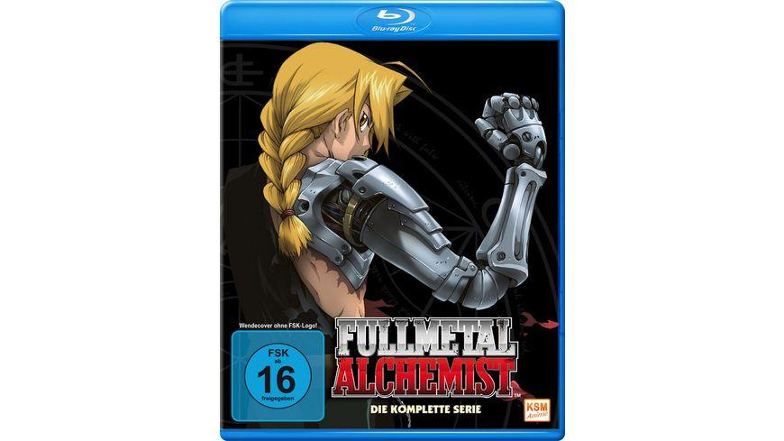 Fullmetal Alchemist Die komplette Serie 6 BRs