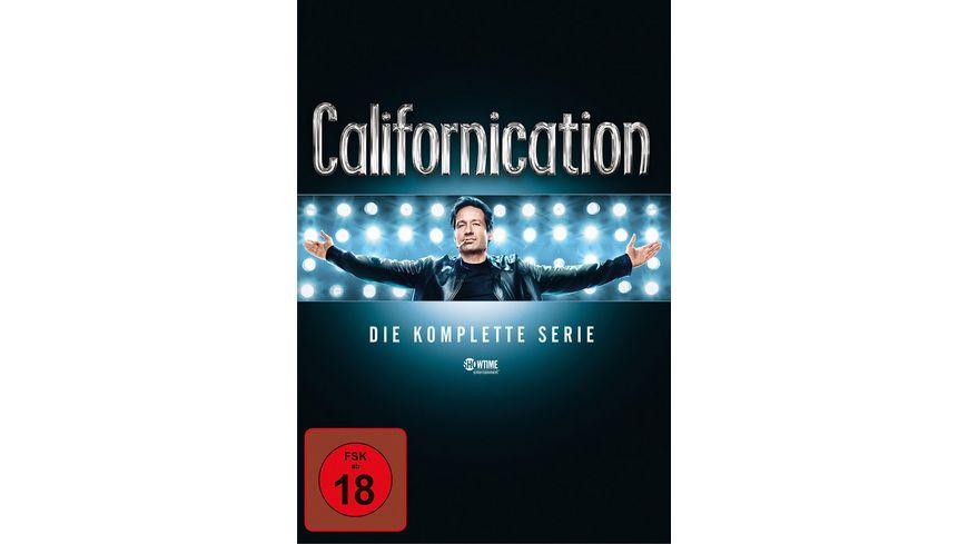 Californication Die komplette Serie Season 1 7 16 DVDs