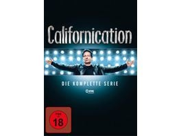 Californication Die komplette Serie Season 1 7 16 DVDs