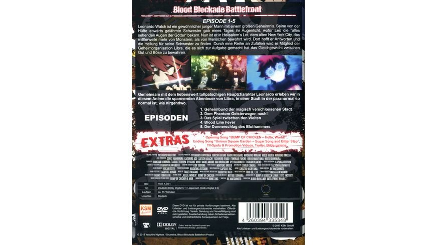 Blood Blockade Battlefront Volume 1 Episode 1 5