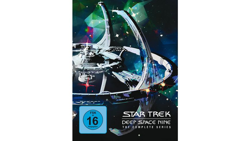Star Trek Deep Space Nine Die komplette Serie 48 DVDs