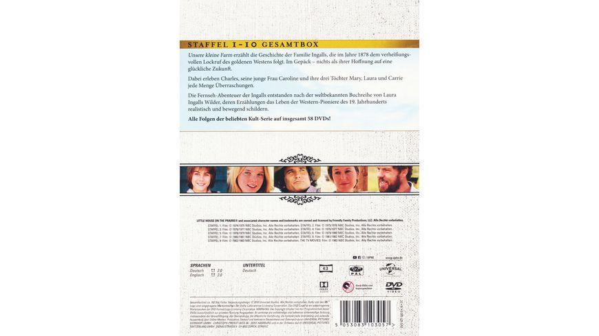 Unsere kleine Farm Die komplette Serie Staffel 1 10 58 DVDs