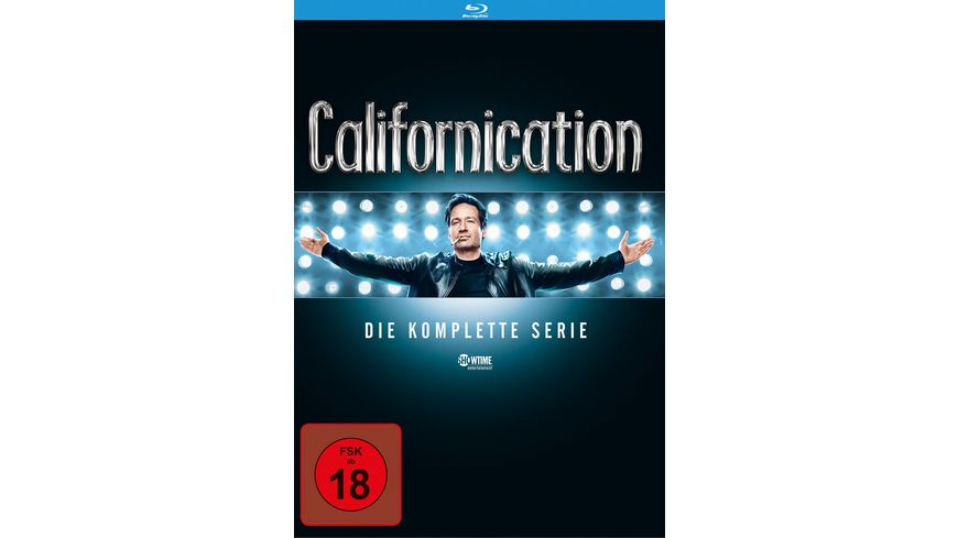 Californication Die komplette Serie Season 1 7 16 BRs