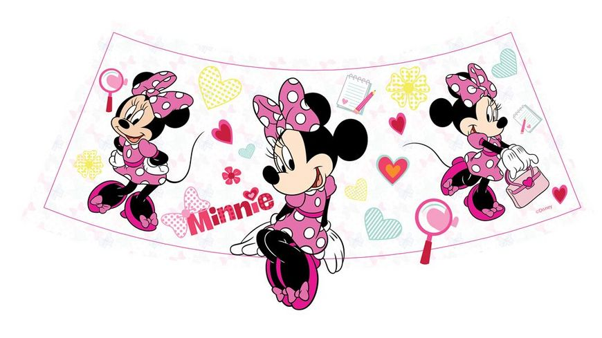 Joy Toy Disney Mickys und Minnies Welt Minnie and Mickey LED Mini Lampenschirm