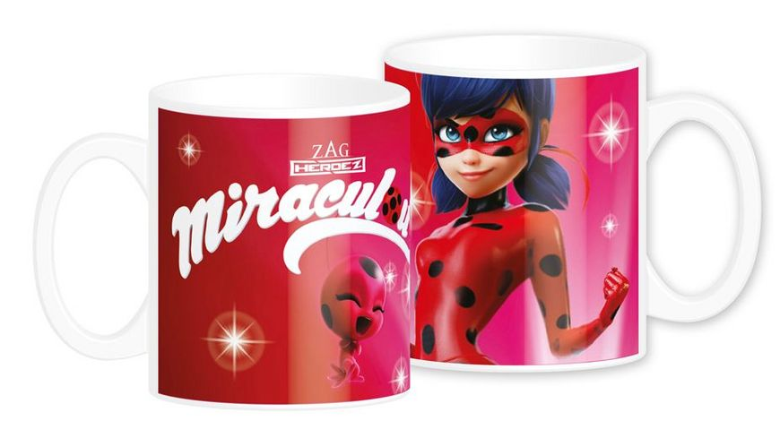 Joy Toy Miraculous Ladybug Keramiktasse