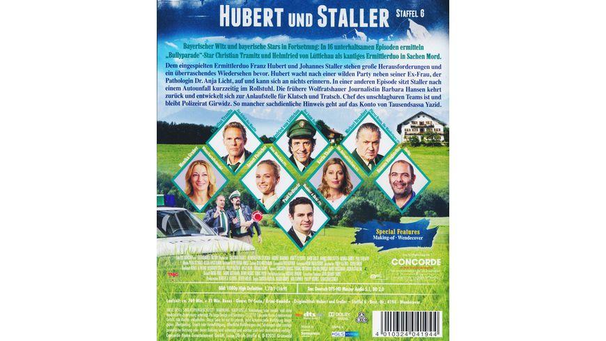 Hubert und Staller Die komplette 6 Staffel 4 BRs