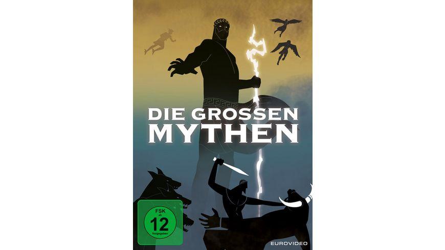 Die grossen Mythen 4 DVDs