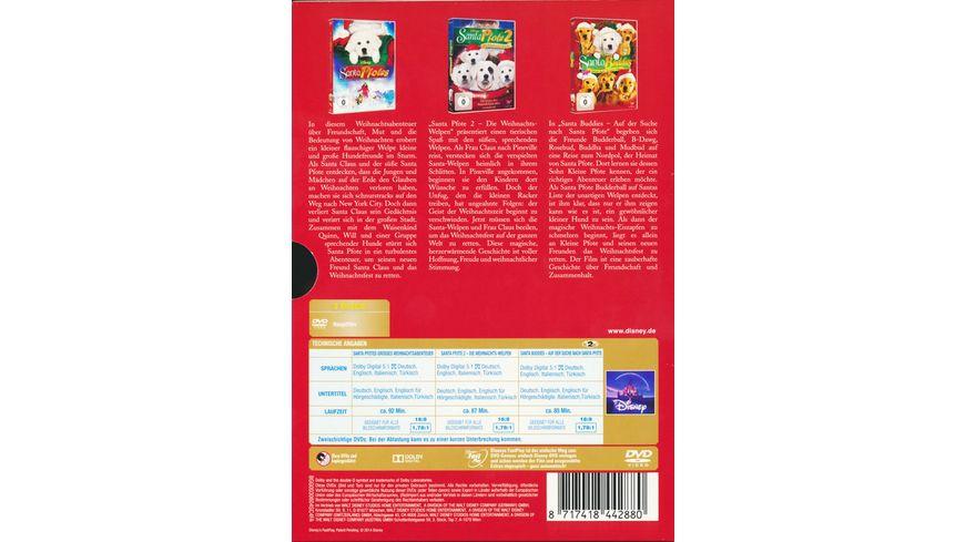 Weihnachts Buddies Box 3 DVDs