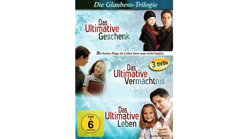 Die Glaubens Trilogie 3 DVDs