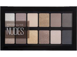 MAYBELLINE NEW YORK The Nudes Lidschatten Palette
