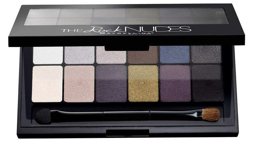 MAYBELLINE NEW YORK The Rock Nudes Lidschatten Palette