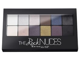 MAYBELLINE NEW YORK The Rock Nudes Lidschatten Palette