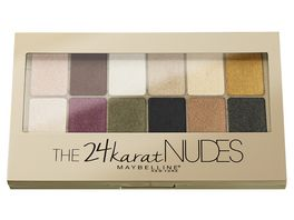 MAYBELLINE NEW YORK The 24 Karat Nudes Lidschatten Palette