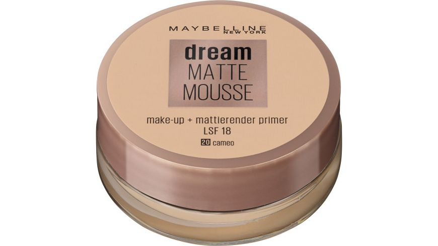 MAYBELLINE NEW YORK Dream Matte Mousse Make-Up