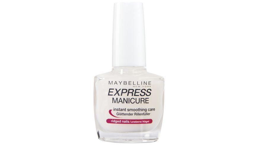 MAYBELLINE NEW YORK Nagellack Express Manicure Rillenfueller