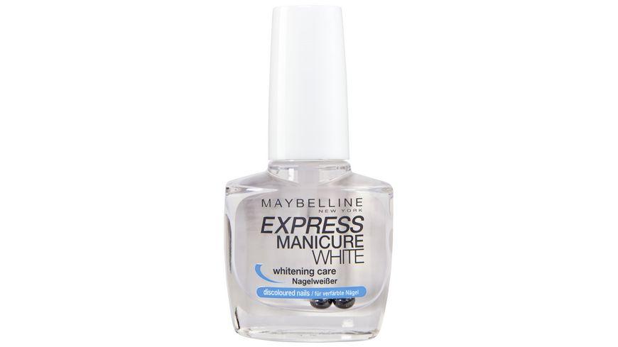 MAYBELLINE NEW YORK Nagellack Express Manicure Nagelweisser