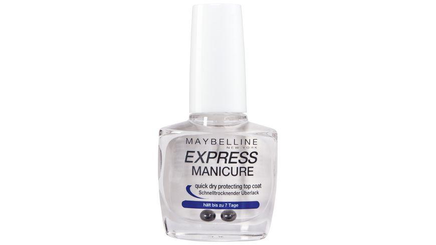 MAYBELLINE NEW YORK Nagellack Express Manicure Ueberlack