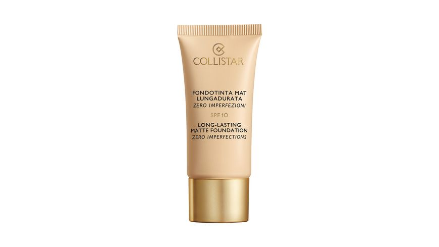 COLLISTAR Long Lasting and Matte Foundation