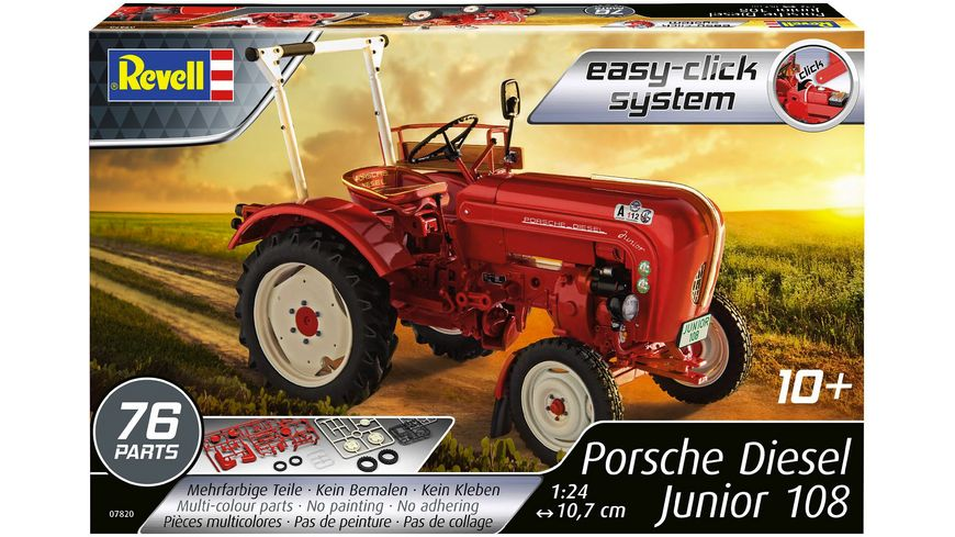 Revell 07820 Porsche Junior 108