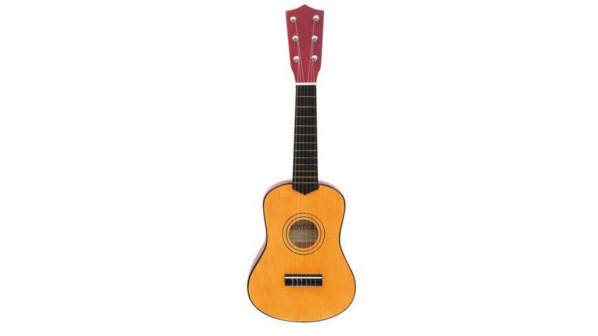 Bontempi Klassische Holzgitarre 6 Saiten