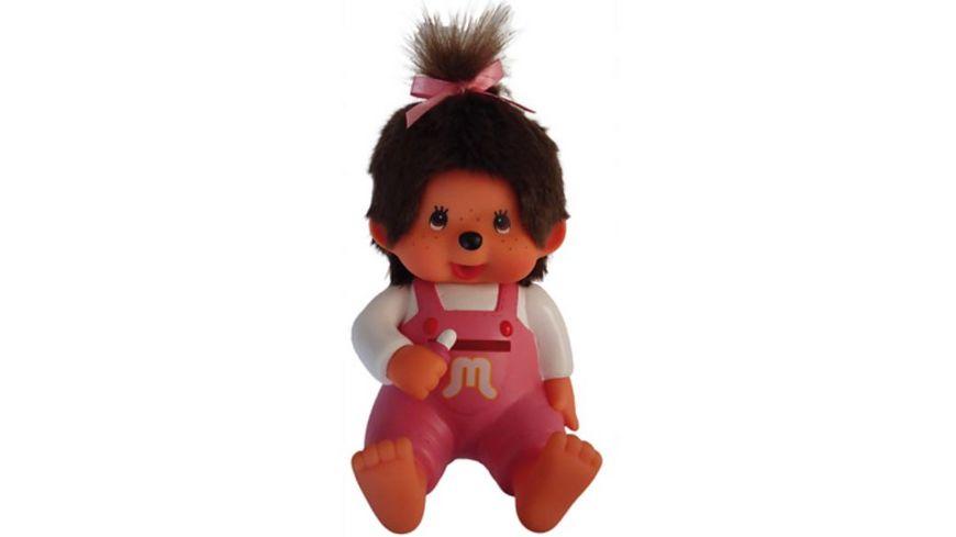 Monchhichi Spardose Maedchen 20 cm pink